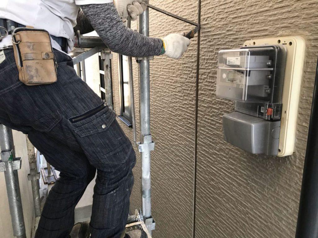 いちき串木野市 塗装施工の様子
