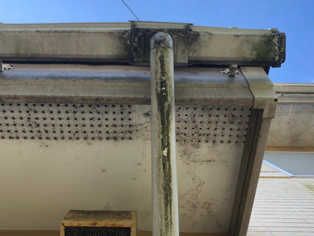 付帯部雨樋塗装