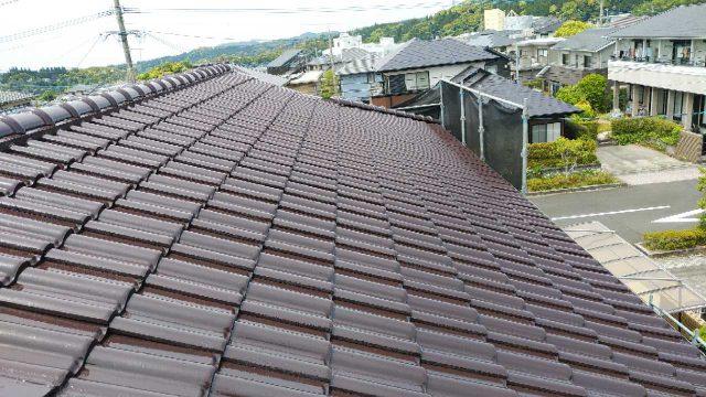 日置市伊集院町屋根の塗装工事