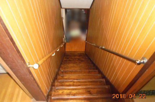 鹿児島市階段リフォーム前の様子