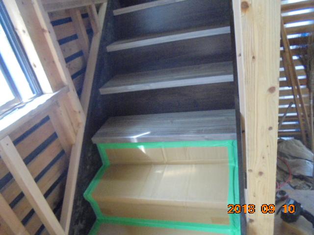 鹿児島市階段リフォームの様子
