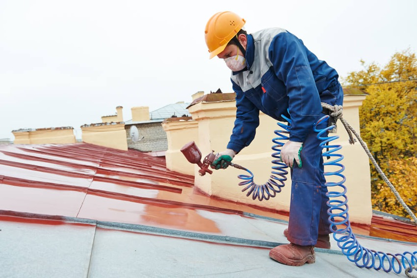 トタン屋根塗装6