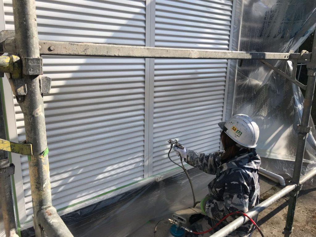 薩摩川内市雨戸塗装