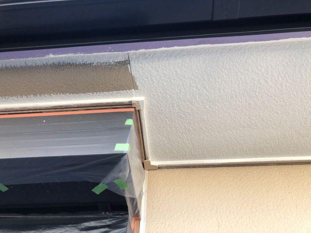 【鹿児島県霧島市】隼人町でアパート3棟工事軒天上塗り