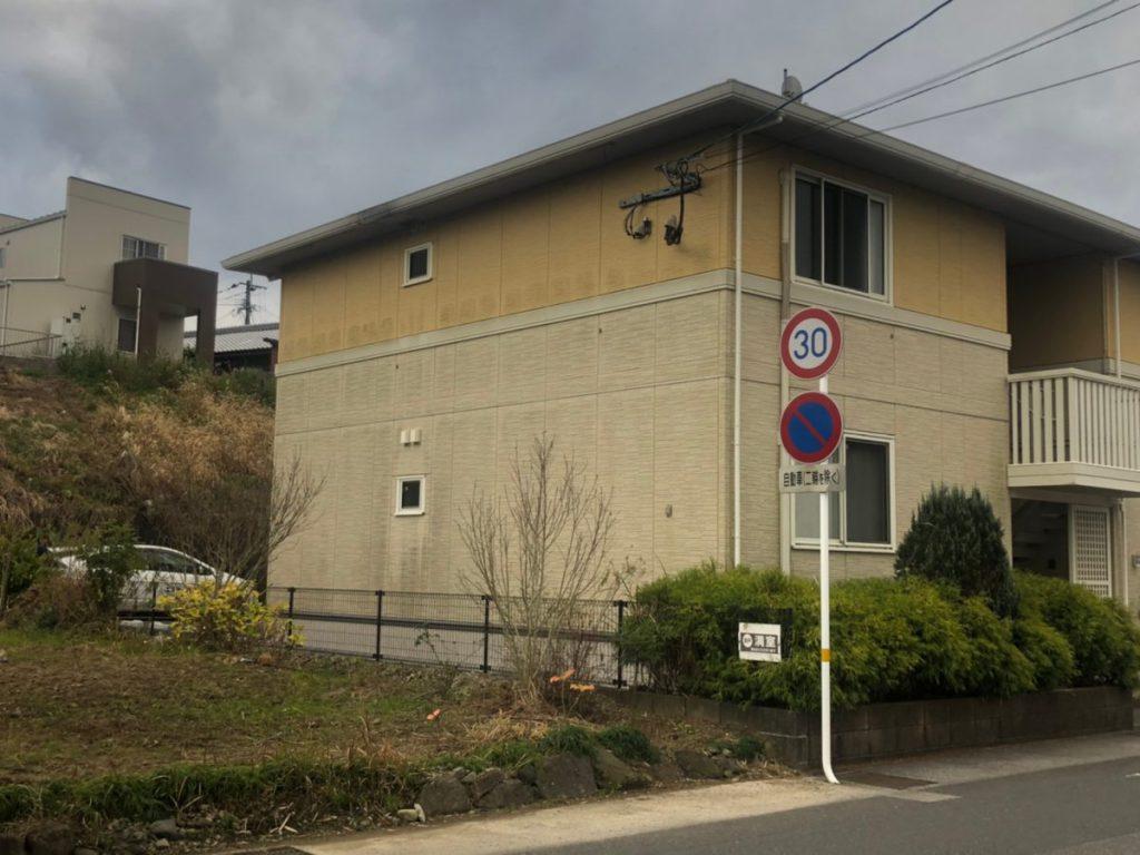宮崎市ダイワハウスアパート塗装東面
