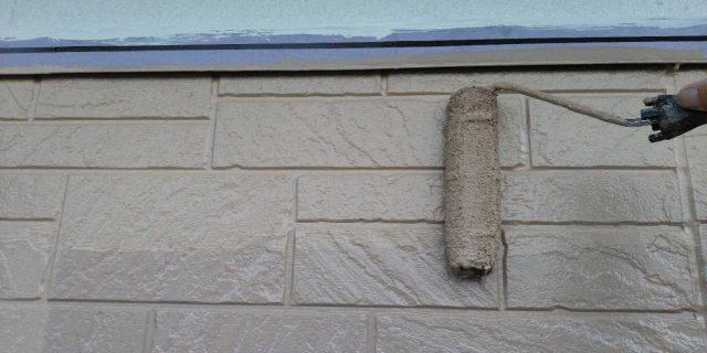 【鹿児島県鹿屋市】串良町の外壁上塗り
