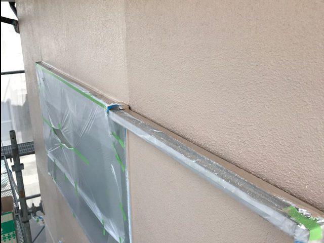 【宮崎県宮崎市】大字田吉でモルタル外壁とセメント瓦を塗装した工事外壁上塗り
