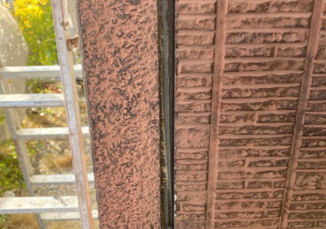 【宮崎県宮崎市】本郷にある41坪の住宅でスーパーセラタイトFを使った外壁塗装と、屋根の塗装工事シーリング撤去