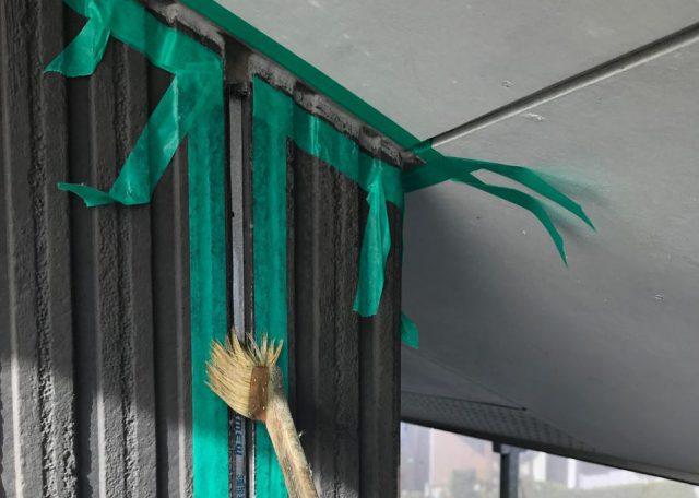 【宮崎県宮崎市】清武町で外壁とガルバリウム屋根、シーリング補修などをした工事シーリング5
