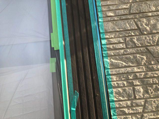 【宮崎県宮崎市】佐土原町で築19年の住宅で外壁と屋根の塗装工事シーリングプライマー