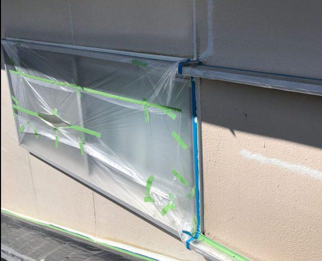 【宮崎県宮崎市】大字田吉でモルタル外壁とセメント瓦を塗装した工事シーリング