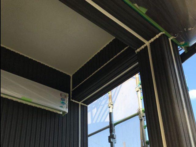 【宮崎県宮崎市】清武町で外壁とガルバリウム屋根、シーリング補修などをした工事シーリング
