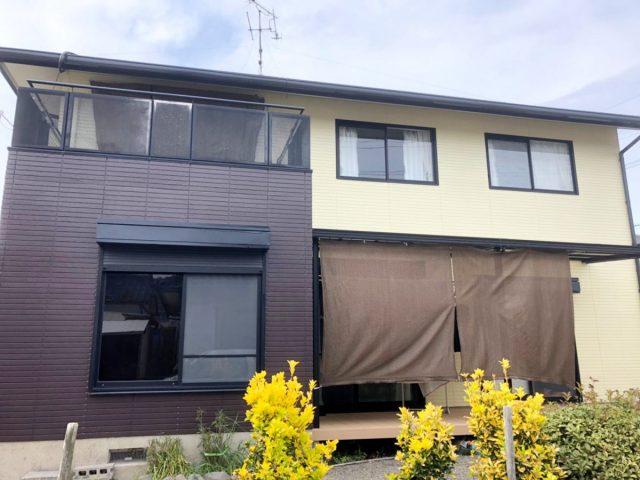 出水市屋根外壁塗装工事完成