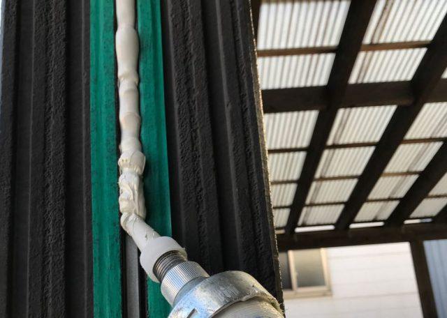 【宮崎県宮崎市】清武町で外壁とガルバリウム屋根、シーリング補修などをした工事シーリング3