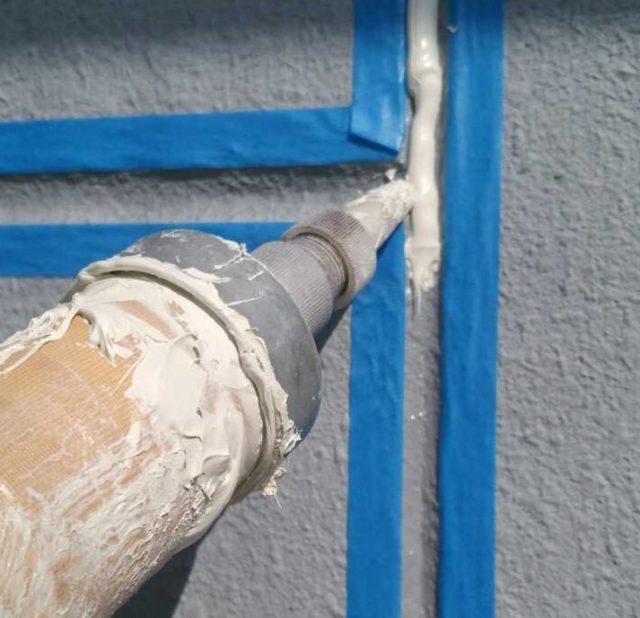 【宮崎県宮崎市】橘通にあるALC外壁の住宅シーリング充填