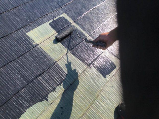 【鹿児島県霧島市】隼人町でアパート3棟工事屋根中塗り