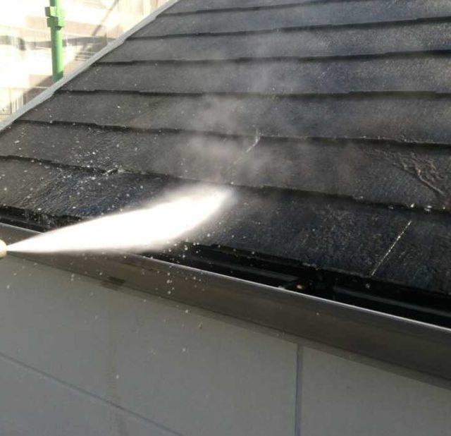 【宮崎県宮崎市】橘通にあるALC外壁の住宅高圧洗浄