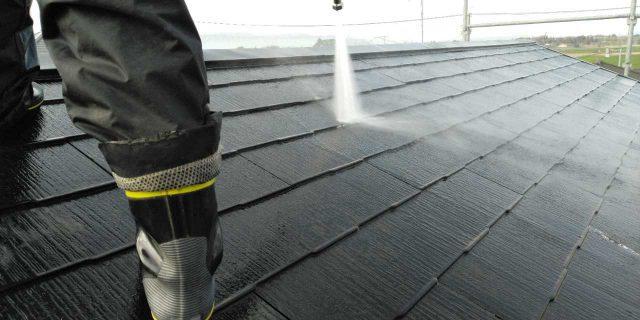 【鹿児島県鹿屋市】串良町の屋根洗浄