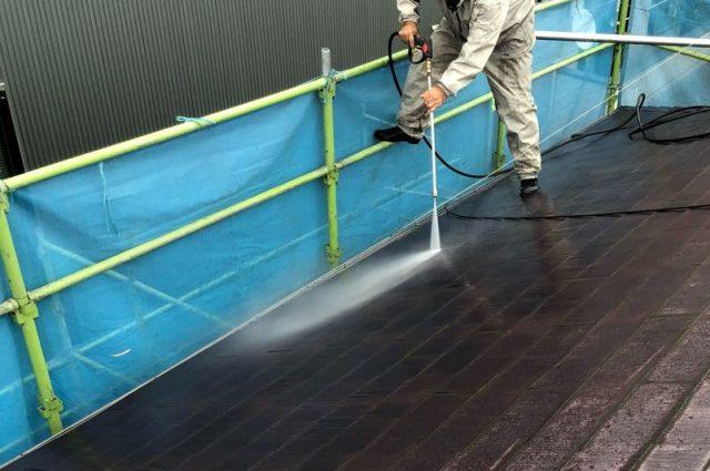 鹿児島市の屋根塗装工事