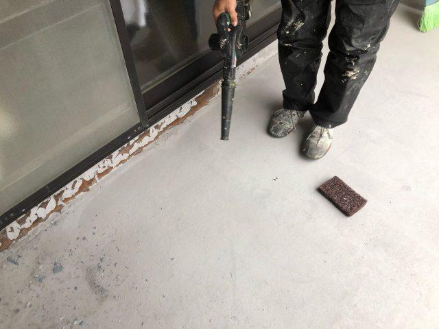 鹿児島市のベランダ補修工事