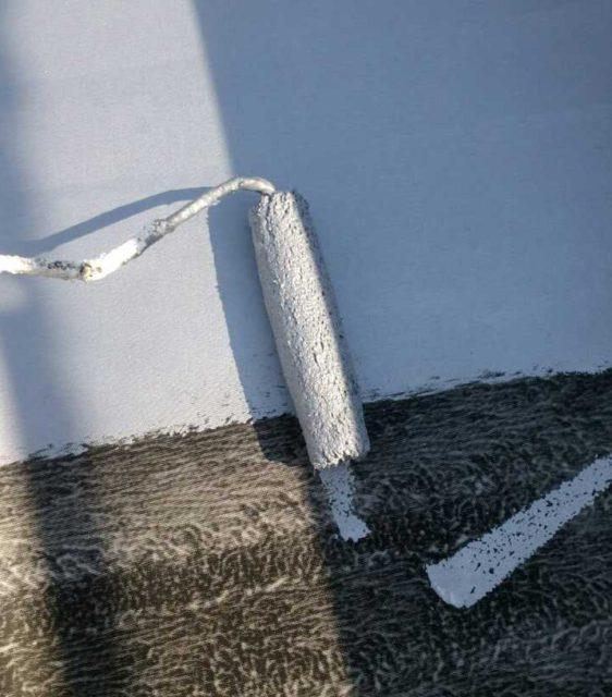 【宮崎県宮崎市】橘通にあるALC外壁の住宅屋上防水