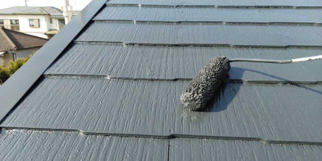 【鹿児島県鹿屋市】串良町の屋根上塗り