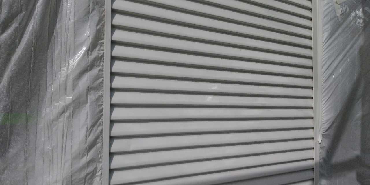 【宮崎県宮崎市】清武町の雨戸塗装