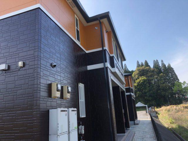 薩摩川内市の塗装工事完成の様子