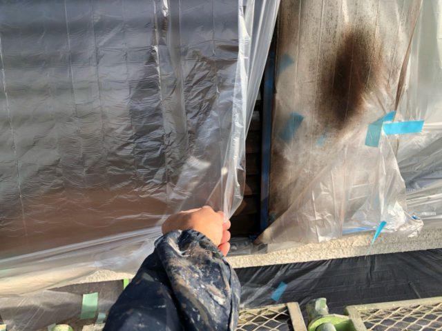 鹿児島市の付帯部塗装工事