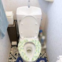 鹿児島市マンションのトイレを交換