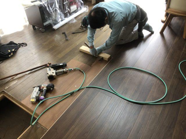 鹿児島市の床工事