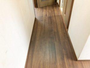 鹿児島市の床の重ね張り完成