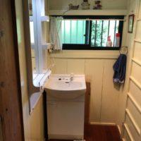 鹿児島市の直木町洗面台の取替完成