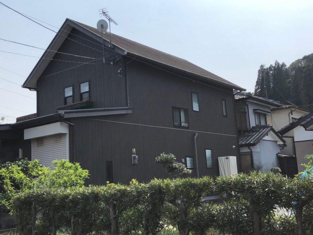 宮崎市清武町塗装築12年工事完成
