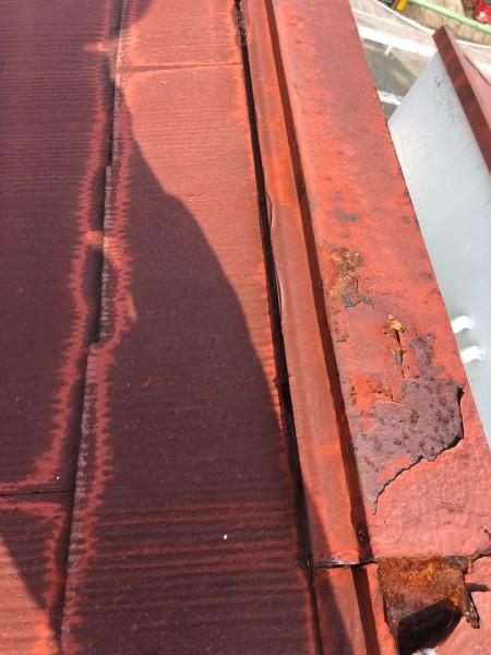 宮崎市大橋外壁屋根塗装棟板金腐食