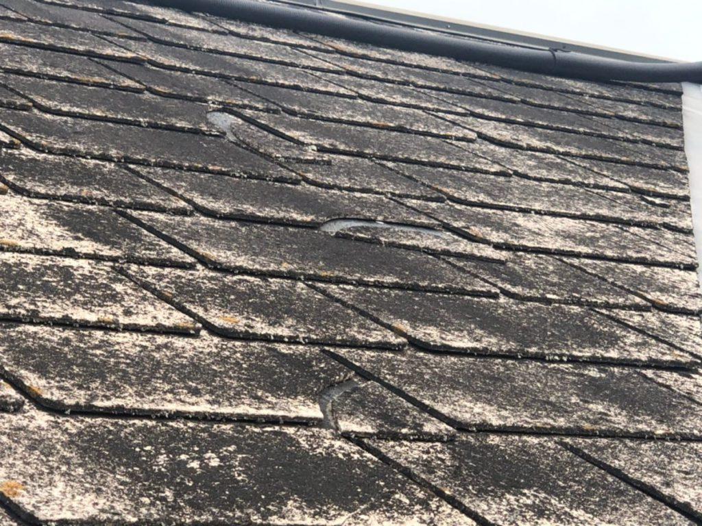宮崎県小林市屋根塗装現場 写真