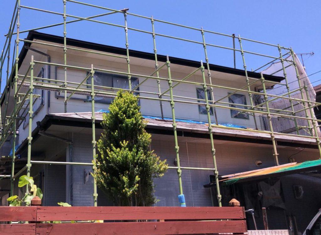 霧島市の屋根外壁塗装工事