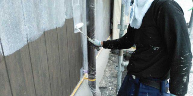 宮崎市清武町塗装築12年工事外壁下地