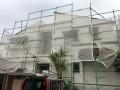 宮崎市大橋外壁屋根塗装足場