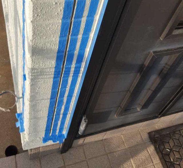 【宮崎県宮崎市】清武町加納乙にあるFRP防水のバルコニーの住宅で外壁・屋根・付帯部塗装をした工事プライマー