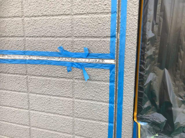 【宮崎県宮崎市】跡江にあるFRP防水のバルコニーの住宅で外壁・屋根・付帯部塗装をした工事プライマー