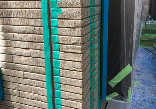 【宮崎県東諸県郡】国富町における陶器瓦の屋根がある住宅で外壁・付帯部塗装をした工事シーリングプライマー