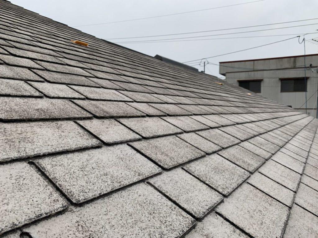 宮崎県小林市屋根塗装現場 補修①
