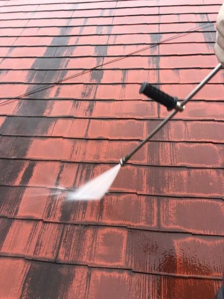 宮崎市大橋外壁屋根塗装水洗い