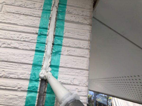 【宮崎県都城市】都北町にある29坪の住宅で外壁・屋根・付帯部塗装をした工事シーリング