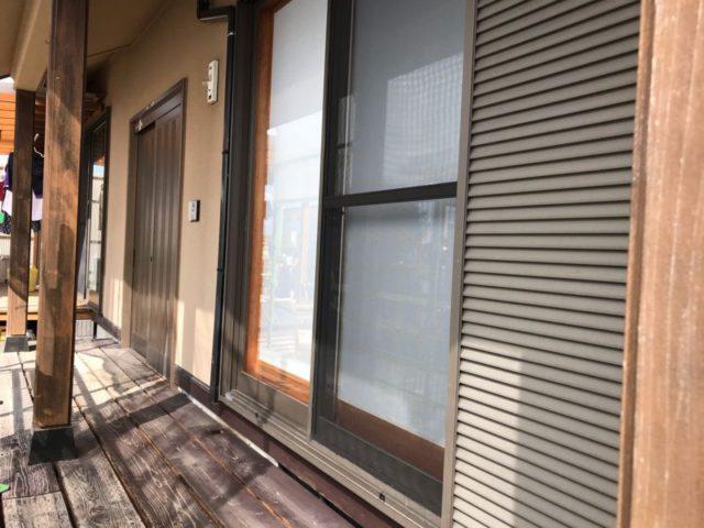 【宮崎県都城市】年見町にある陶器瓦の住宅で外壁・付帯部塗装をした工事洗浄
