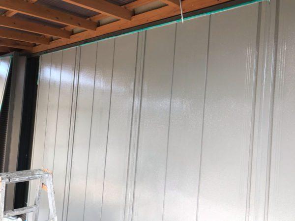 【宮崎県都城市】年見町にある陶器瓦の住宅で外壁・付帯部塗装をした工事雨戸