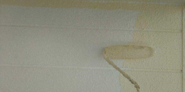 【宮崎県宮崎市】吉村町別府原甲にある粘土瓦屋根の住宅で足場を設置していきます外壁中塗り_1_確定