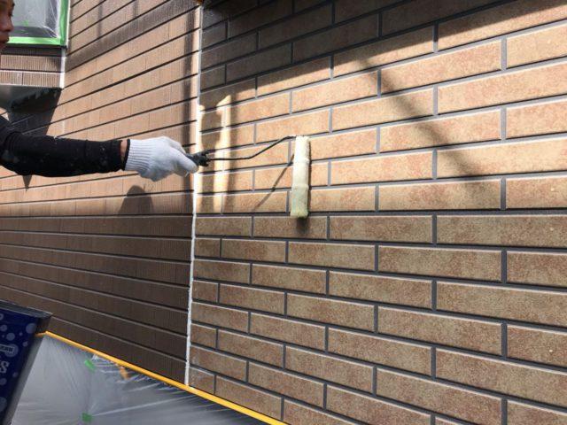 【宮崎県宮崎市】清武町池田台北にある58坪の住宅で足場を設置していきます外壁下塗り_1_確定