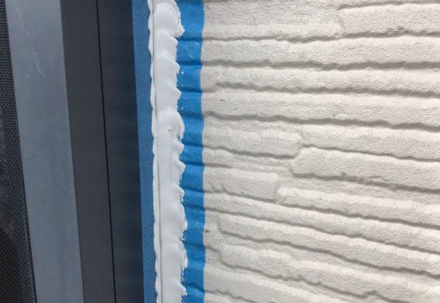 【宮崎県宮崎市】東大宮にある陶器瓦屋根の住宅でシーリング補修をしますシール充填_1_予備1